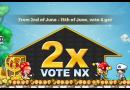 【活動】兩倍NX投票(已結束)